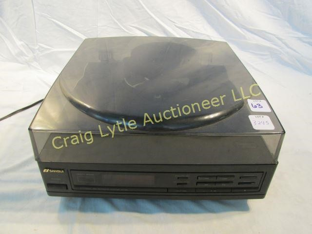 Sansui 5 CD Automatic Changer CR-280 | Craig Lytle