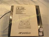 Sansui 5 CD Automatic Changer CR-280   Craig Lytle