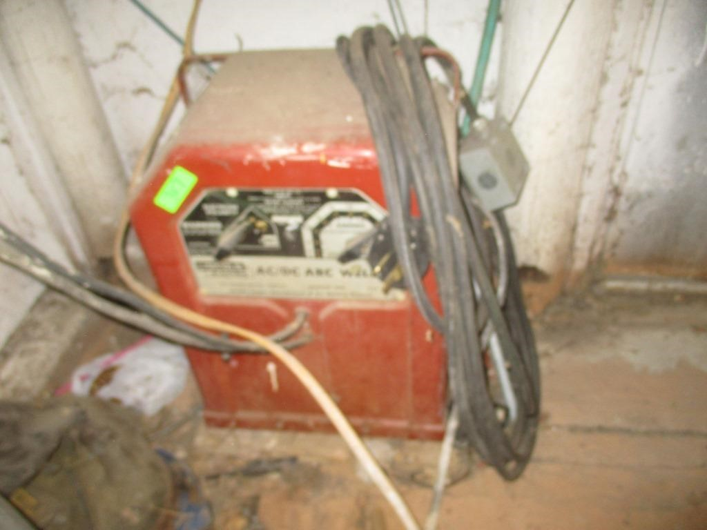 Lincoln Electric AC / DC Arc Welder, 2) Welding | Prime Time
