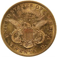 $20 1870-S PCGS MS63 CAC