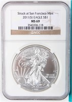 September 25th ONLINE ONLY Coin Auction