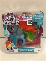 MY LITTLE PONY THE MOVIE RAINBOW DASH TOY AGES 3+