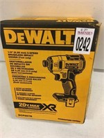 DEWALT BRUSHLESS IMPACT DRIVER(TOOL ONLY)