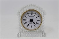 "Wittnauer quartz table top clock 3.75 X 4"""