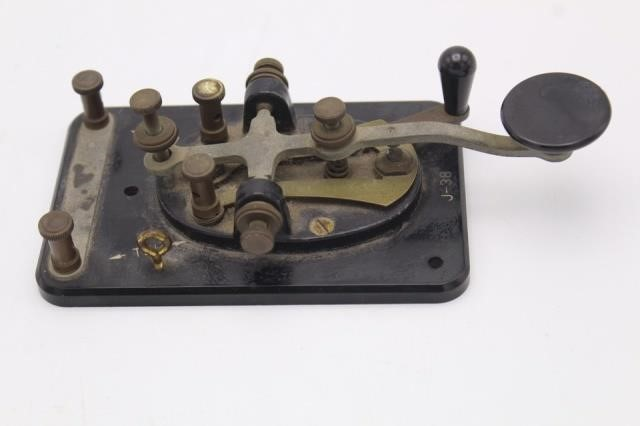 Original J-38 Telegraph Key (Morse Code) by Lionel | Antique