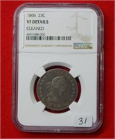 Weekly Coins & Currency Auction 8-24-18