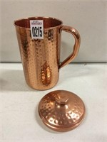 PURE COPPER WATER JUG(USED)