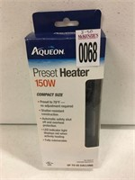 AQUEON PRESET HEATER 150W UP TO 55GALLONS