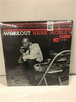 WORK OUT HANK MOBLEY RECOD ALBUM