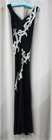 Vintage beaded evening gown by Fernette Gowns