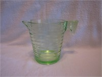 Vtg Green Depression Glass 2 Cup Measuring Cup