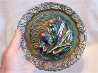 1971 Fenton Mother's Day Plate (Carnival Glass)