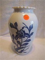 "Vintage Anchor Hocking 9"" Vase"