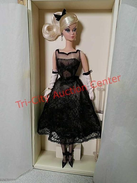 801d1de25c45d Cocktail dress silkstone Barbie, Gold Label   Tri-City Auction Center