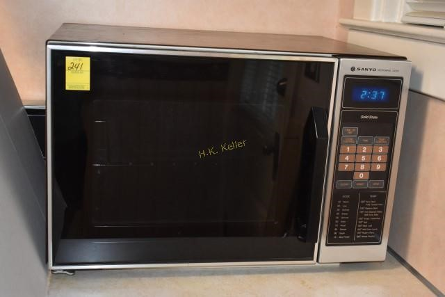 Sanyo Microwave Oven H K Keller