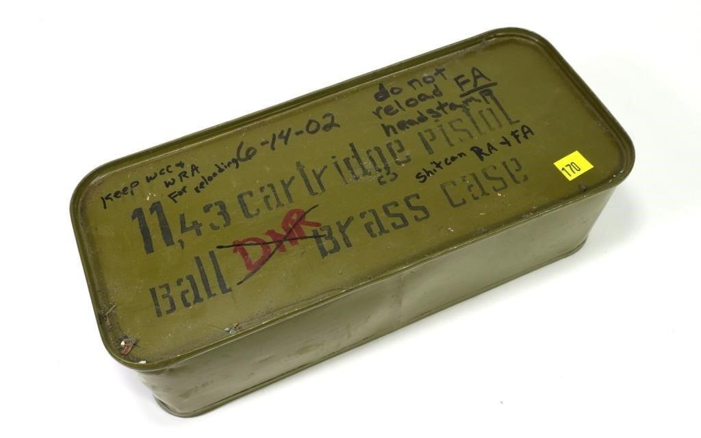 inconclusively prohibition era .45 acp cartridge dating