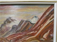 UNTITLED MOUNTAIN LANDSCAPE SIGNED A.Y. JACKSON