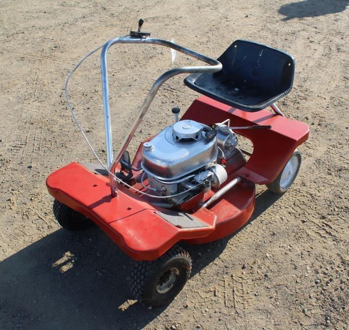 Sears Vintage Riding Lawn Mower Starts Runs Smith Sales Llc