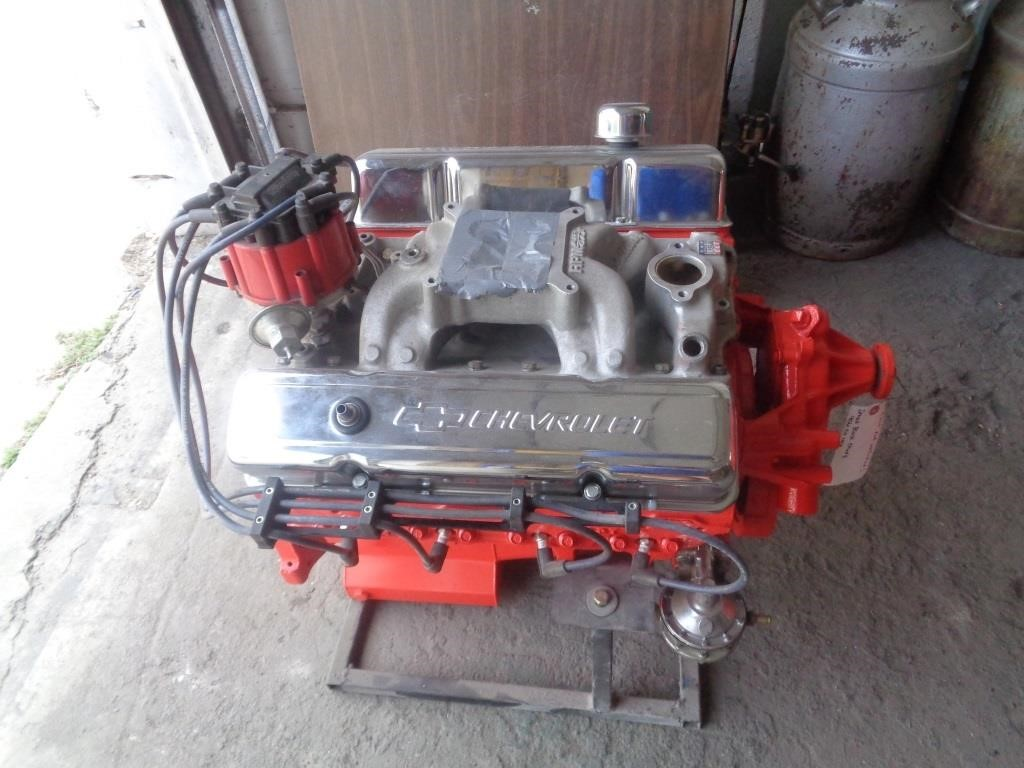 Small Block Chevy Engine - 406 Cu Inch | Graves Online Auctions