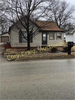 Real Estate Auction 805 Carroll St. Pawnee, IL - Online Only