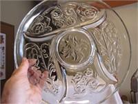 """Beautiful Relish Platter 11&5/8"""""""