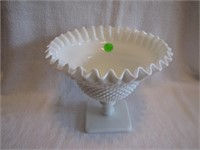 """Signed Westmoreland Large 6&1/2"""" Compote"""