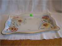 Antique B&C France Vanity Tray Dated 1918