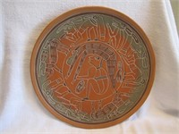 "13"" Aztec Wall Decor Plate"