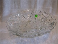 Ornate Vintage Footed Bowl