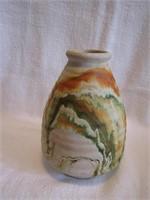 "6"" Nemadji Pottery Vase"