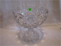 """EAPG Moon & Stars Large Compote 7&3/4"""" x 7&1/4"""""""
