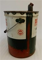 1960 B/A PEERLESS MOTOR OIL 5 IMP. GAL. CAN /TAG