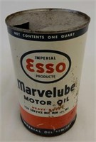 IMPERIAL ESSO MARVELUBE MOTOR OIL QT. CAN