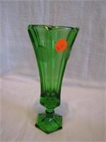 Vintage 1963-65 Emerald Green Fostoria Coin Glass