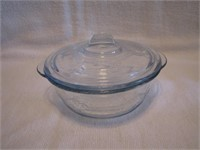 """Small 5"""" Fire King Philbe Individual Casserole"""