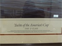 YACHTS OF THE AMERICA'S CUP SPECIAL EDITION PRINT