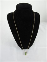 10K GOLD CHAIN AND DICE NECKLACE