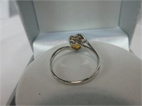 1.20CTTW AZOTIC & DIAMOND RING