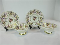 PAIR: ROYAL STAFFORD CUPS & SAUCERS