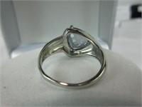 3.25CTTW VIOLET MYSTIC & DIAMOND RING