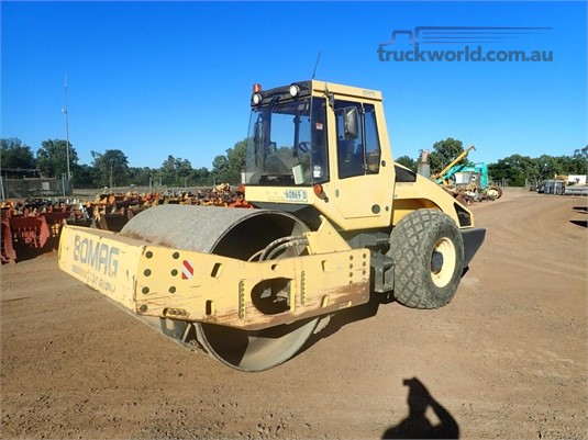 2007 Bomag BW216D-4 Heavy Machinery for Sale