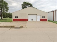 Salina, KS Commercial Shop Building Online-Only Auction