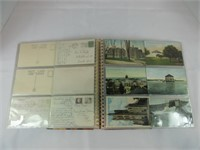 APPROX. 48 VINTAGE ONTARIO POST CARDS IN ALBUM