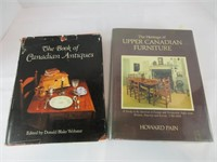 """""""THE BOOK OF CANADIAN ANTIQUES"""" & OTHER"""