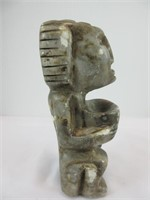 """8.5"""" NATIVE STONE CARVING"""