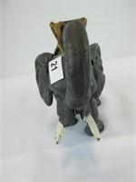 """5.5"""" TALL CAST ELEPHANT COIN HOLDER"""