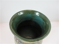 CLEWELL? SIGNED ART POTTERY VASE