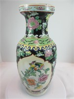 "14"" CHINESE FLORAL VASE"