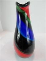 """9.5"""" MURANO GLASS VASE"""