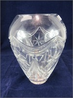 "9"" ROYAL DOULTON GLASS VASE"
